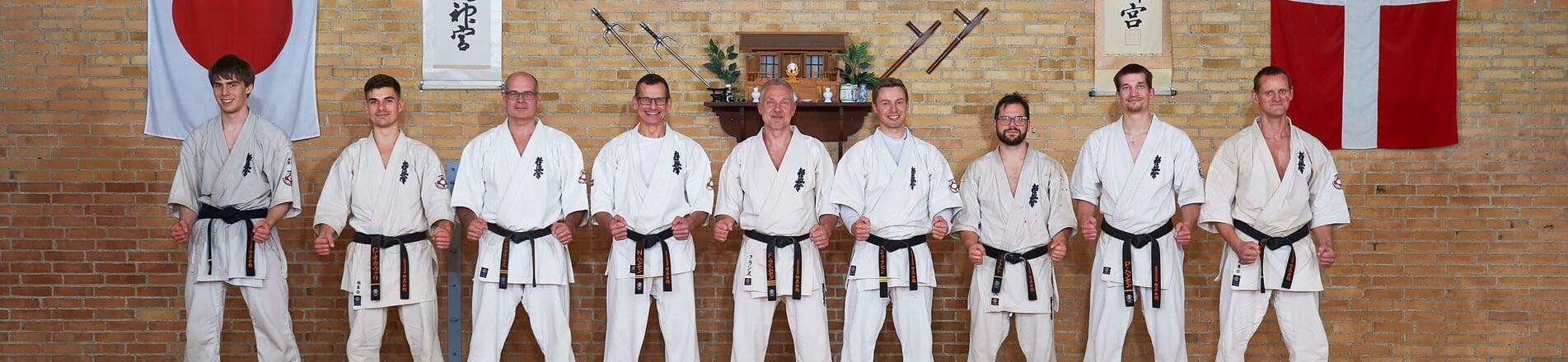 Farum Kyokushin Karate - Instruktørene